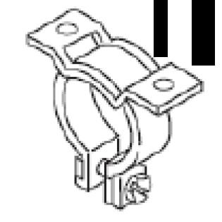 Хомут монтажный насоса - дозатора