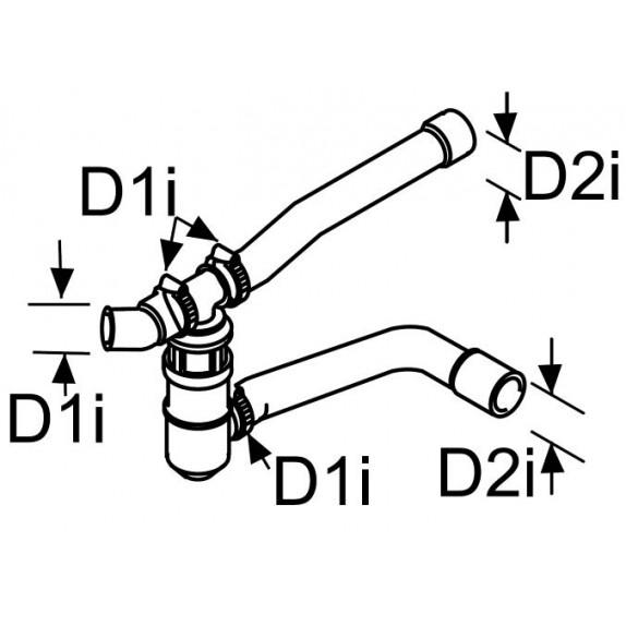 Комбинированный клапан  Webasto