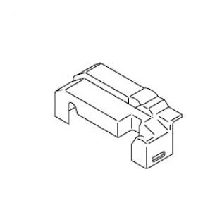Крышка разъемов блока управления с уплотнением и крепежом. Thermo 50 Webasto