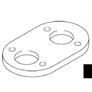 Промежуточная пластина, толщина 6 мм