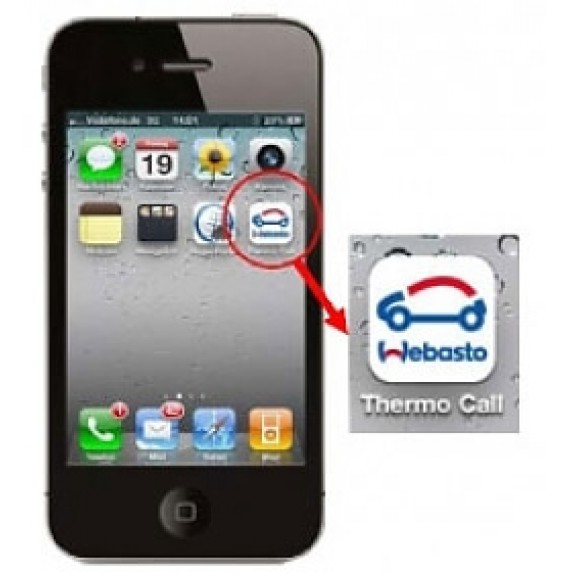 ThermoCall 4 Entry GSM-модуль Webasto