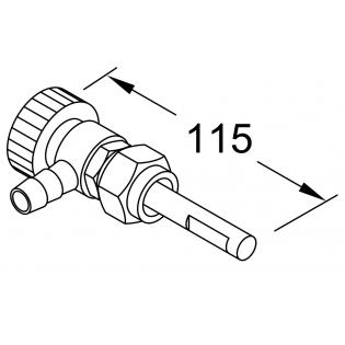 Запорный клапан для 86227А (Реле импульсное 10A / ВБ)